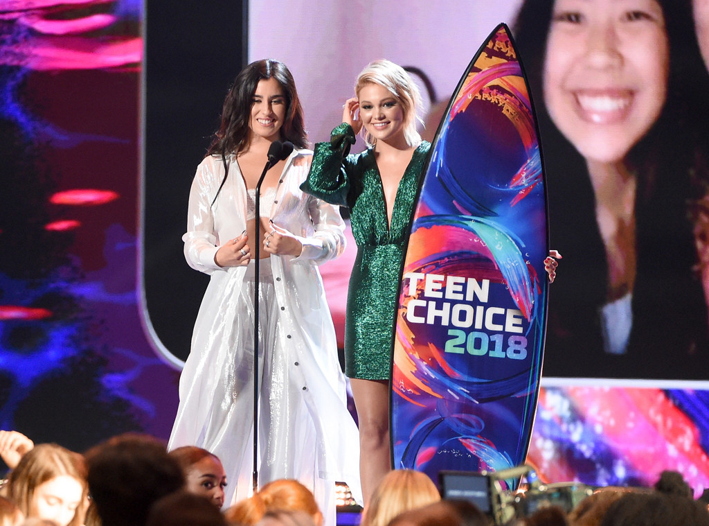 Lauren Jauregui, Olivia Holt, 2018 Teen Choice Awards, Show, Winners